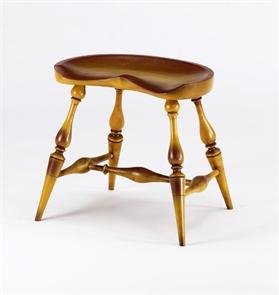 Phenomenal 18 Saddle Seat Low Stool Benners Woodworking Machost Co Dining Chair Design Ideas Machostcouk