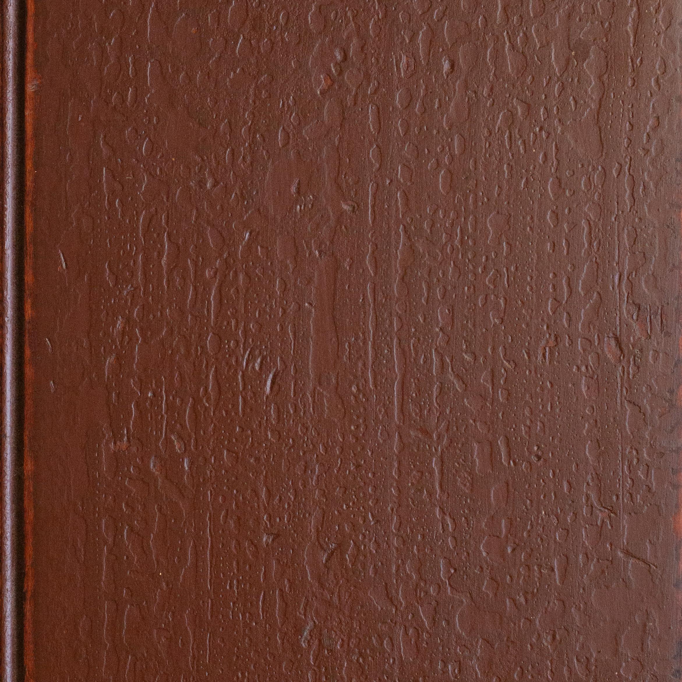 Dark Red - Chared Oak